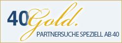 40 Gold Logo